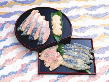 king salmon: Daiginjo sake lees building