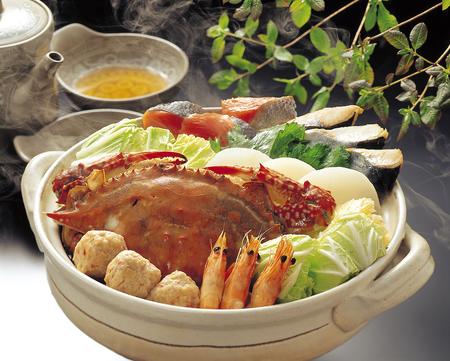 blue crab: Seafood pot of blue crab