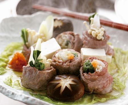 point and shoot: Japanese beef shabu-shabu style