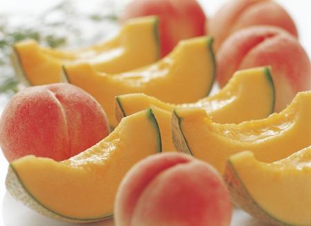 watertight: Hokkaido melon and peach watertight