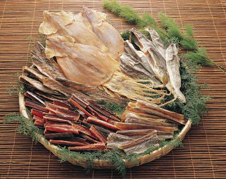 Dried fish set