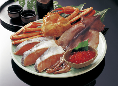 fishery products: Seafood set