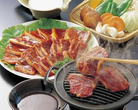 carne alla griglia: Korean-style grilled meat
