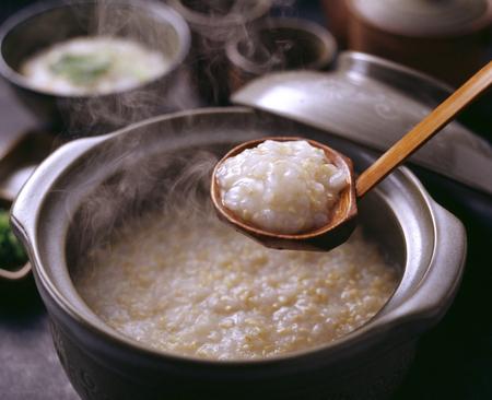 玄米お粥 写真素材