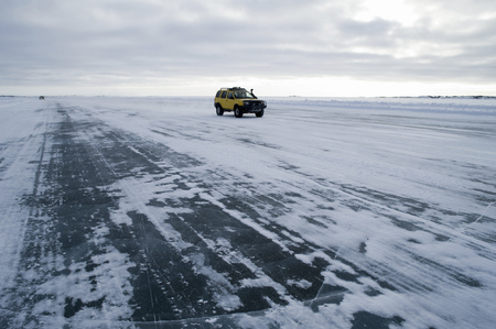 esclavo: Ice Road de Gran Lago del Esclavo