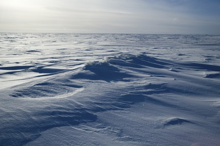 esclavo: La magnífica nieve Lago del Esclavo Foto de archivo