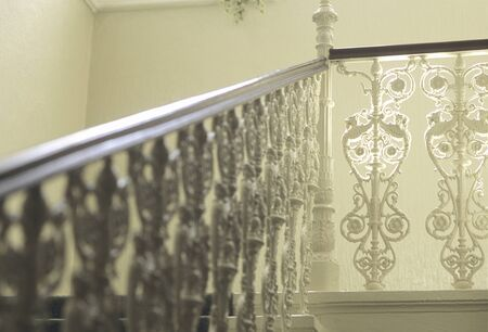 Decoration of the handrail