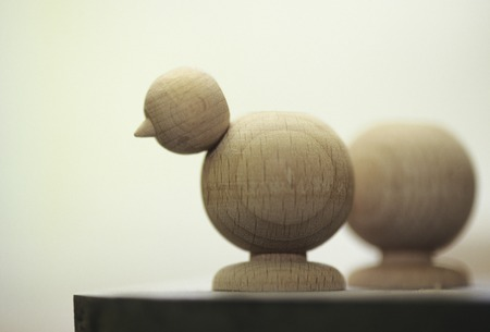 scaled down: Woodwork