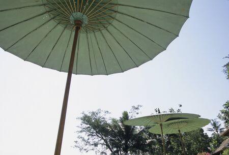 parasol: Hotels parasol Stock Photo