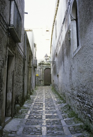 cobbled: Cobbled alley