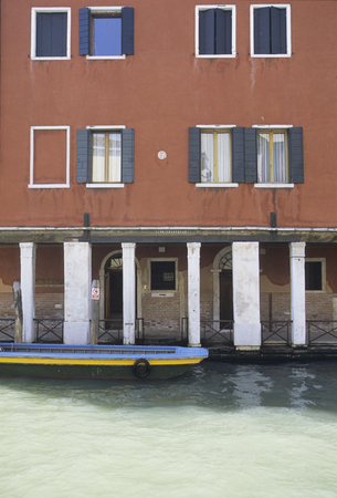 portico: Waterway of the apartment and the portico