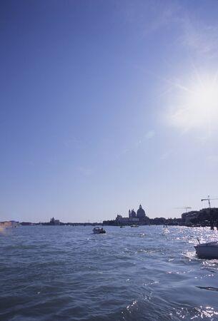 海のヴェネツィア 写真素材