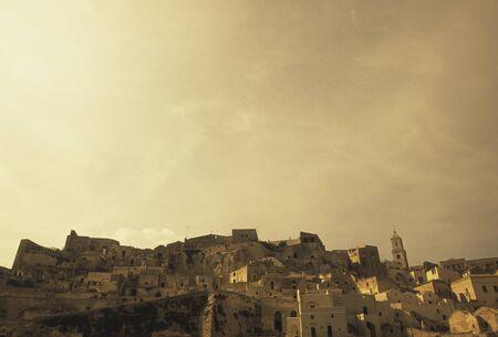 dwellings: Matera cave dwellings