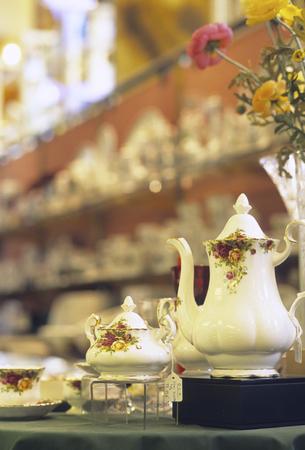陶器サーバー 写真素材