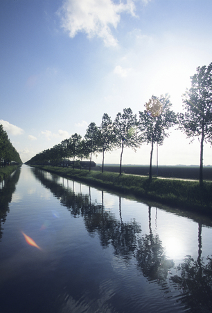 waterways: Waterways and trees