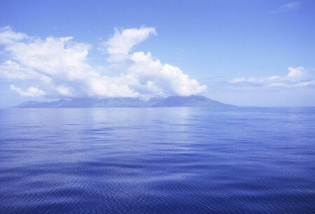 ultramarine blue: Of ocean clouds