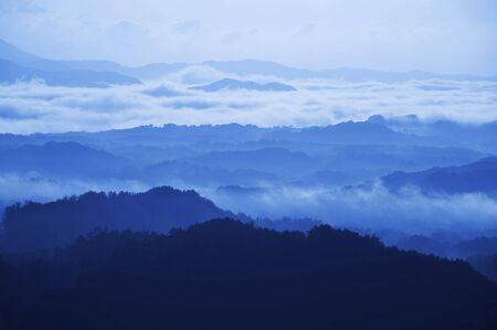 mt: Mt. Sanbe distant view