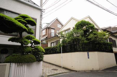 residential neighborhood: The residential neighborhood of Yoyogi-Uehara