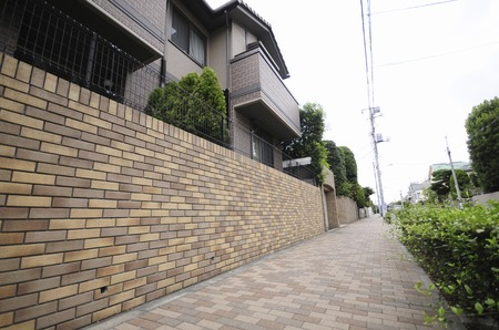 vicinity: Residential area in the vicinity of Suginami Yongfu 3-chome Stock Photo