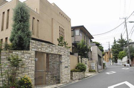 DenenChofu residential Stock fotó
