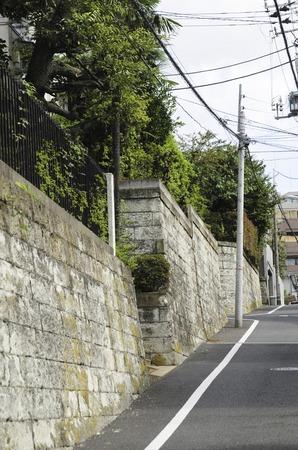 vicinity: Shirokanedai 4-chome stone wall in the vicinity