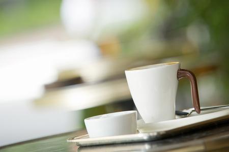 east espresso: Cafe Stock Photo