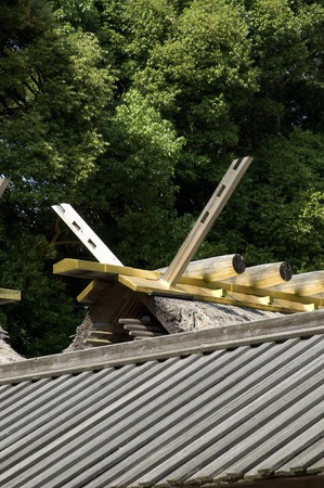 ise: The roof of the Ise Shrine Betsumiya month
