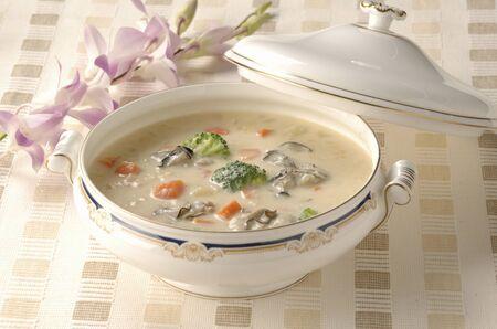 stew: Cream stew Stock Photo