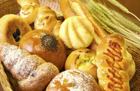 point and shoot: A variety of bread