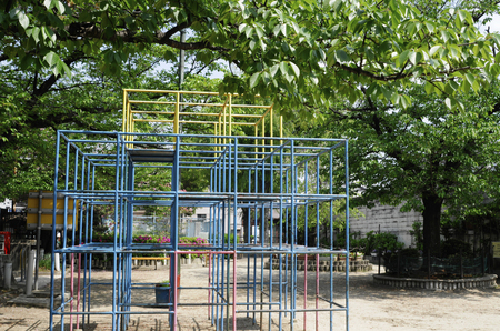 jungle gym: Park jungle gym