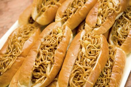 over the counter: Yakisoba bread