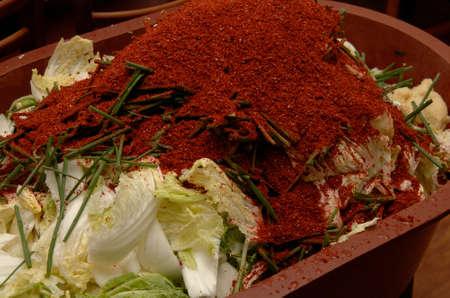 capsicum plant: Kimchi