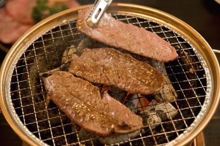 charcoal: Charcoal stove of roast Stock Photo
