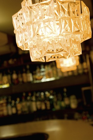 retrospective: Lighting equipment of bar counter