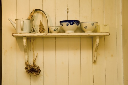 shelf: Antique shelf