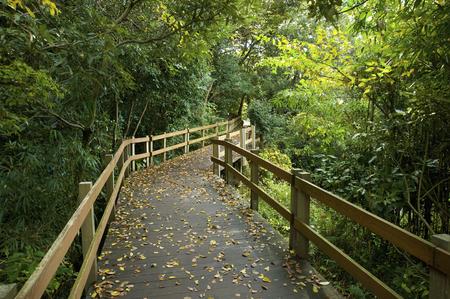 promenade: Promenade Kakita River park Stock Photo