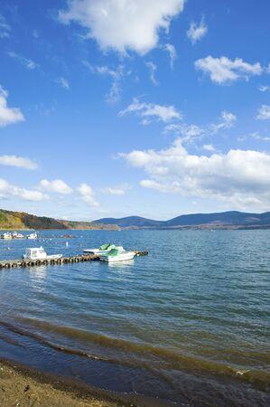 shores: The shores of Lake Yamanaka