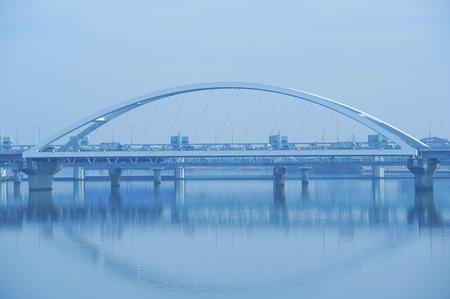 nagara: Nagara Bridge Stock Photo
