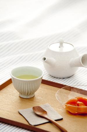 お茶のこと 写真素材