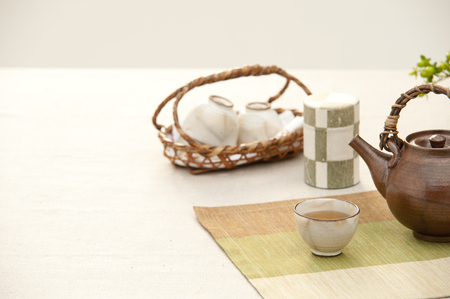 point and shoot: Tea image Stock Photo
