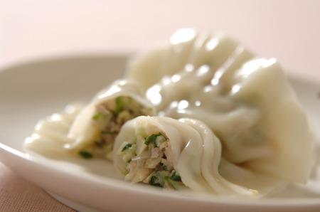 Water dumplings 스톡 콘텐츠