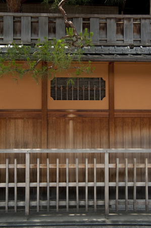 teahouse: Fence of the Japanese house