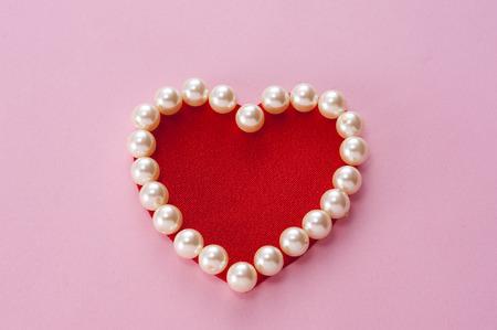 ハートの真珠