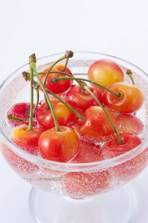 compote: Cherries compote Stock Photo