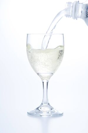 carbonated drink: Soda water