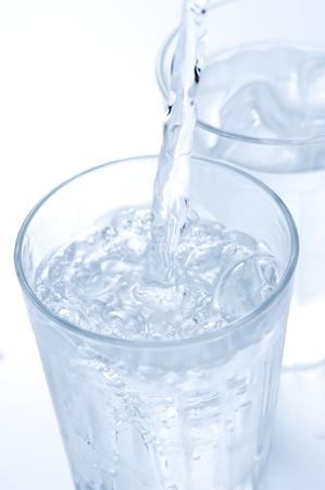 氷のグラス 写真素材