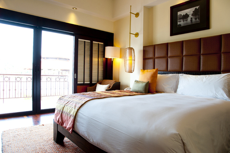 Luxury hotel Standard-Bild