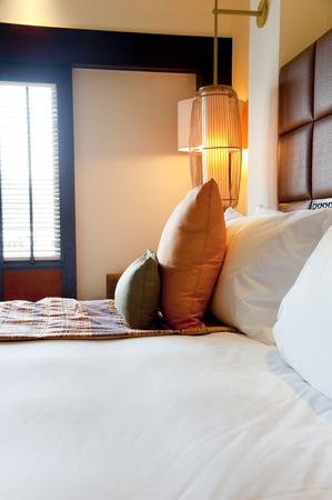 部屋の高級ホテル 写真素材