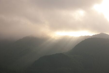 shaft: Mountains and the shaft of light
