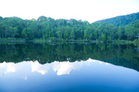 chubu: Kido pond Stock Photo